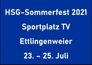 Einladung zum HSG-Sommerfest 2021